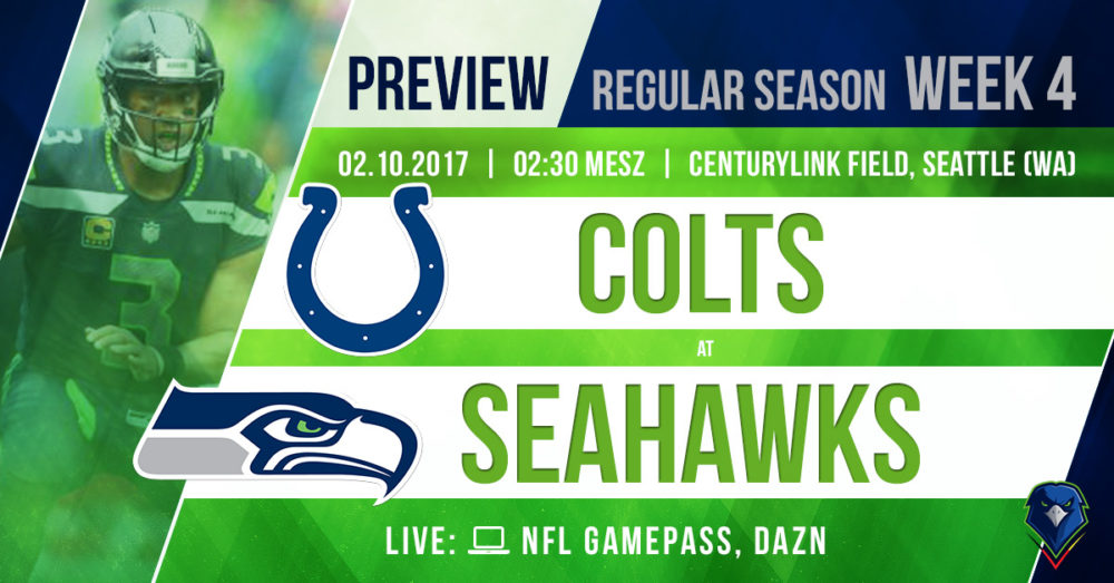 Seahawks - Colts Preview