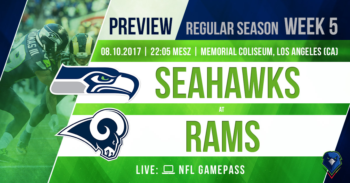Preview Seahawks @ Rams