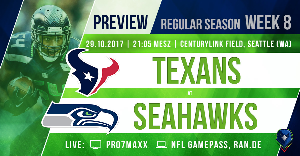 Preview Texans @ Seahawks