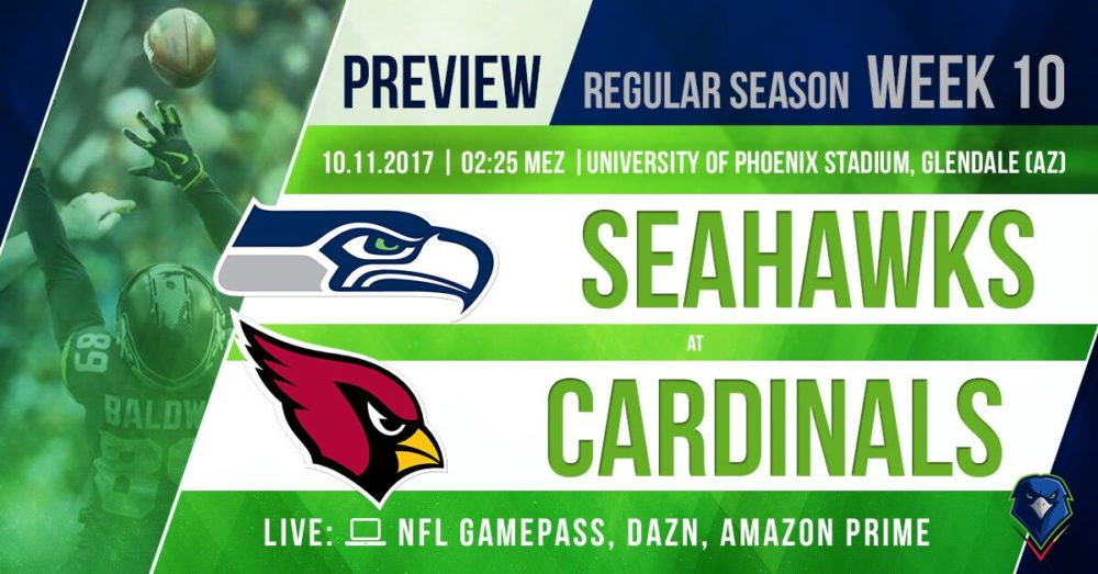 Preview Seahawks @ Cardinals 2017