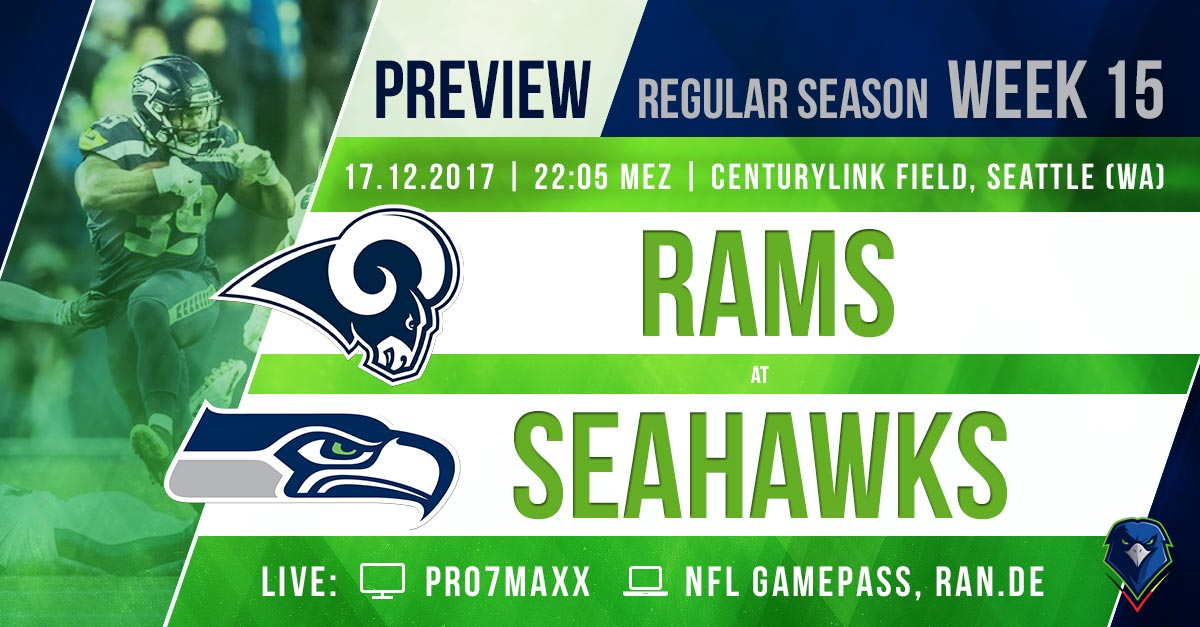 Preview Rams @ Seahawks 2017