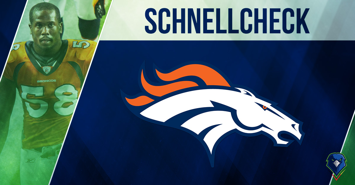 Schnellcheck Denver Broncos 2018