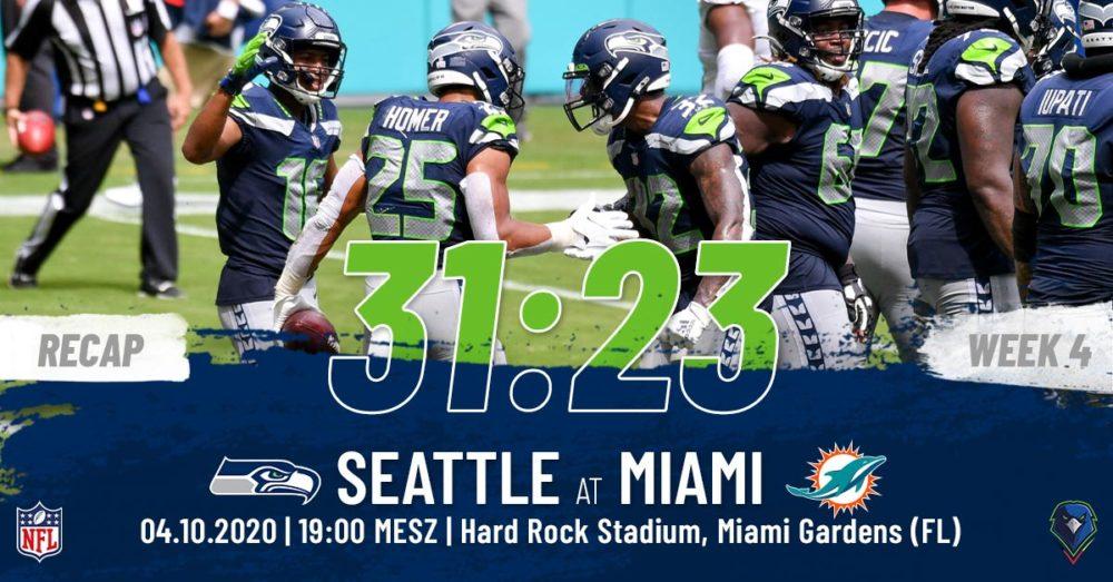 Recap Week 4, 2020 Miami Dolphins