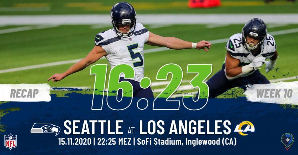 Recap Week 10, 2020 Los Angeles Rams