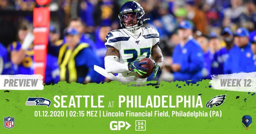 Preview Week 12, 2020 Philadelphia Eagles