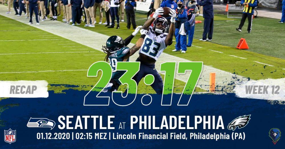 Recap Week 12, 2020 Philadelphia Eagles