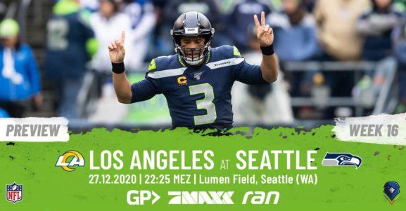 Preview Week 16, 2020 Los Angeles Rams