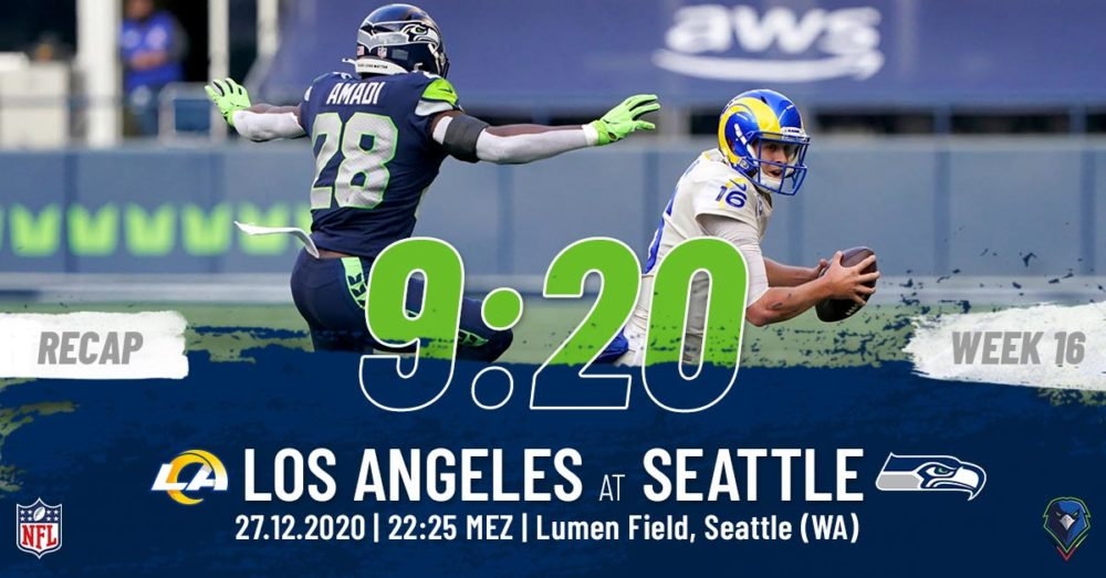Recap Week 16, 2020 Los Angeles Rams