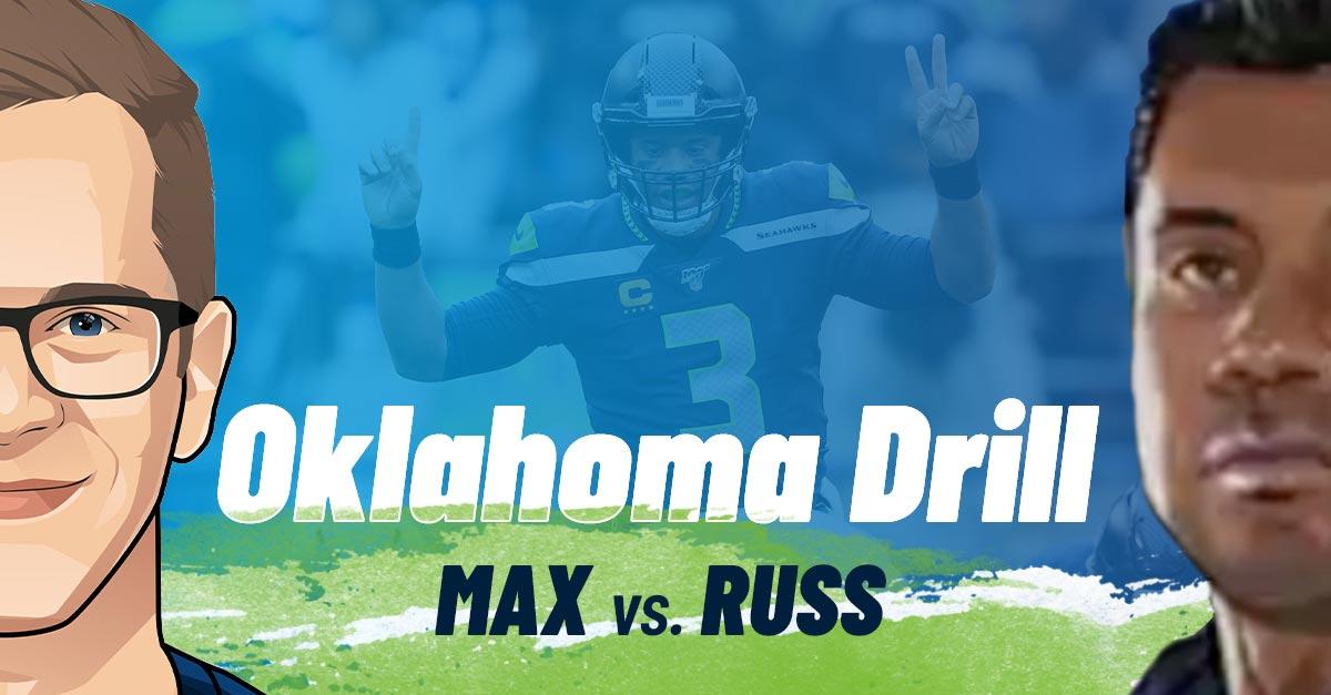 Oklahoma Drill Russell Wilson