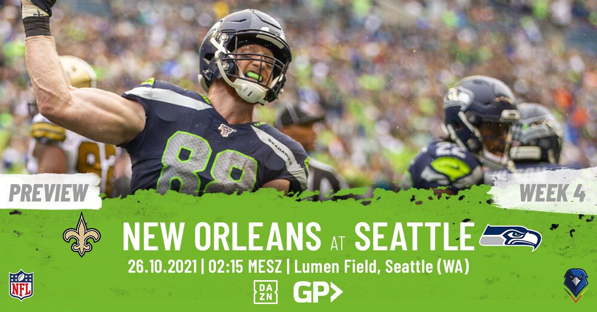 Seahawks Preview Week 7, 2021 New Orleans Saints