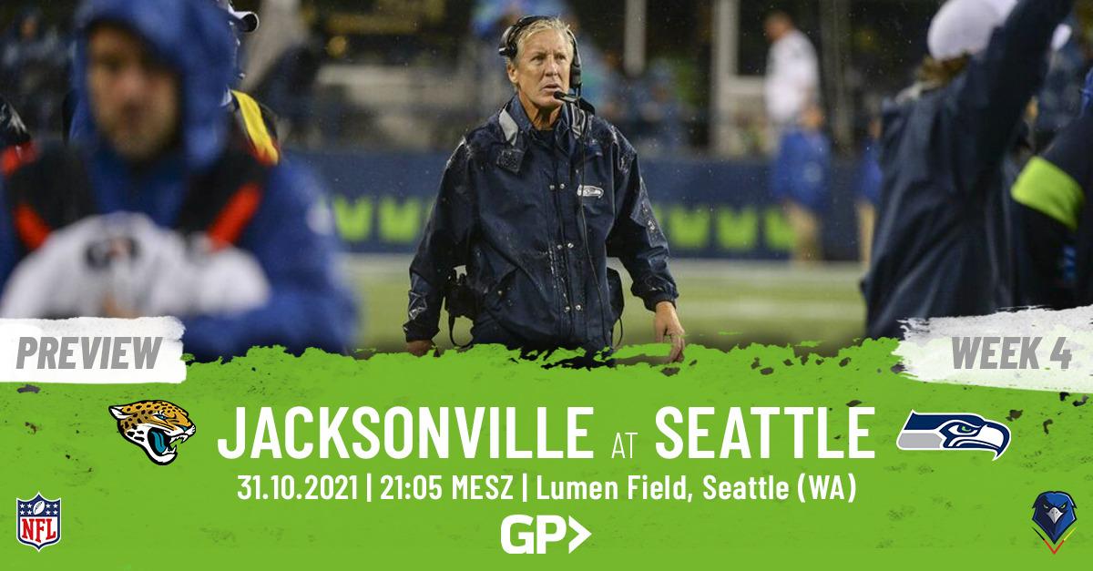 Seahawks Preview Week 8, 2021 Jacksonville Jaguars